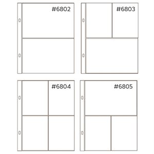 Picture of *50% OFF* Anthology 6 x 8 Mixed Pocket Protectors (20 pack – 4 styles) *SALE* WHILE SUPPLIES LAST